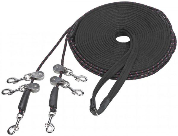 Picture of Double Lunging Reins SOFT-UMLENKROLLEN