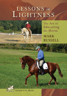 Picture of book, lessons in lightness. Mark Russell