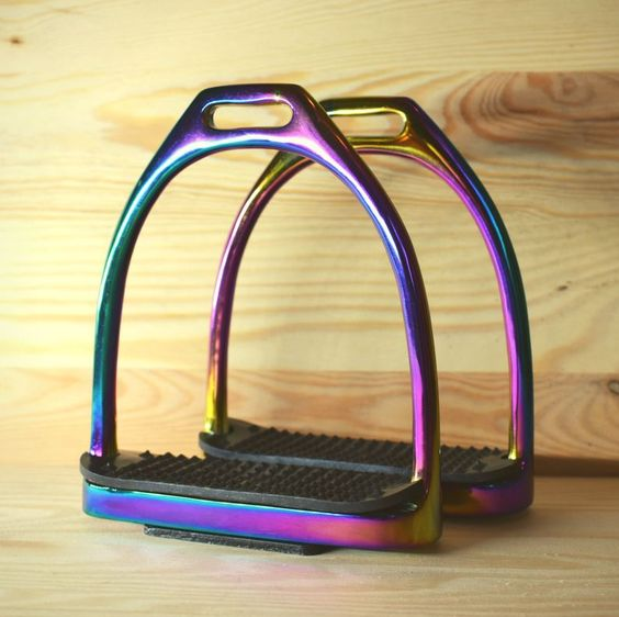 Picture of Rainbow Gloss Stirrups
