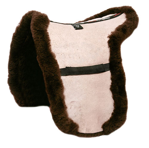 Picture of lambskin show numnah