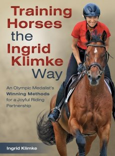 Picture of Training Horses the Ingrid Klimke Way front cover.
