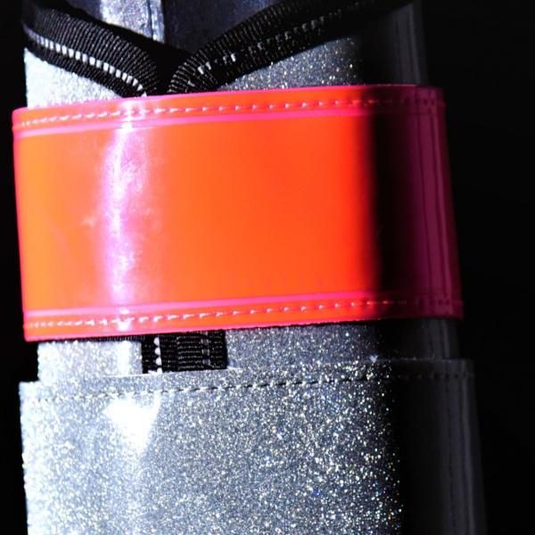 Picture of red diamond brushing boot